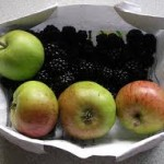 blackberry and apples