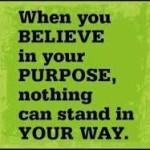 Maya believe in purpose