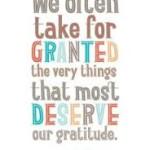 gratitude deserve